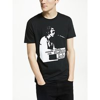Elton John Crocodile Rock Graphic T-Shirt, Black
