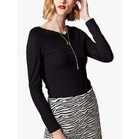 Karen Millen Long Sleeve Jersey Top