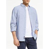 John Lewis and Partners Linen Cotton Slim Fit Shirt
