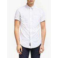 John Lewis & Partners Short Sleeve Oxford Shirt
