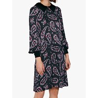 shop for Ghost Adeline Paisley Dress, Rory Paisley at Shopo