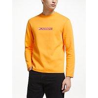 shop for J.Lindeberg Logo Sweatshirt, Cool Peach at Shopo