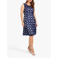 Studio 8 Lilah Lace Dress, Blue/Ivory