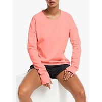 Adidas Supernova Run Cru Sweatshirt, Glow Pink/heather