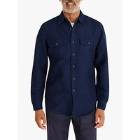 J.Crew Heavyweight Chamois Cloth Shirt, Indigo