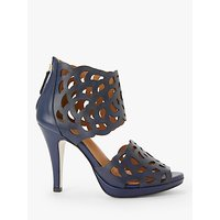 shop for Sargossa Inspire Stiletto Heel Sandals, Navy Leather at Shopo