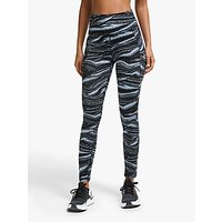 Adidas Believe This Wanderlust Training Tights, Glow Blue/black