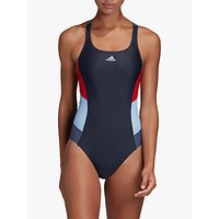 Adidas Colourblock Swimsuit, Legend Ink