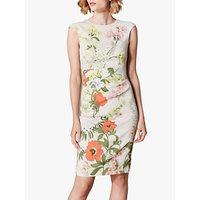 Karen Millen Garden Floral Bodycon Dress, Multi