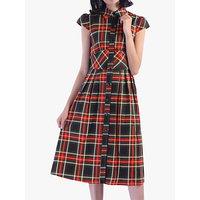 shop for Jolie Moi Check Print Shirt Dress at Shopo