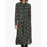 Ghost Bell Shirt Dress, Roxie Flower