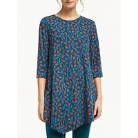 Seasalt Nansidwell Tunic Top, Pussy Willow Light Squid
