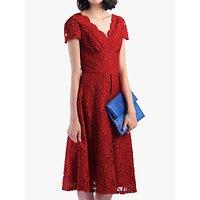 Jolie Moi Cap Sleeve Lace Dress