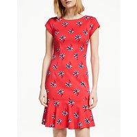 Boden Rosetta Dress, Red