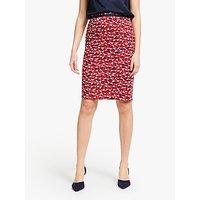 Boden Modern Pencil Skirt, Red