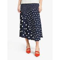 Boden Alina Midi Skirt, Blue