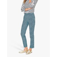 Boden Richmond 7/8 Trousers, Heron Blue/Chester