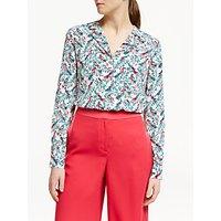 Boden Tabitha Silk Shirt, Natural