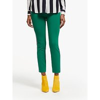 Boden Hampshire Side Stripe 7/8 Trousers, Forest