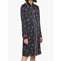 shop for Ghost Harriet Shirt Dress, Dot Daisy at Shopo