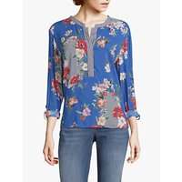 Betty Barclay Floral Print Blouse, Blue
