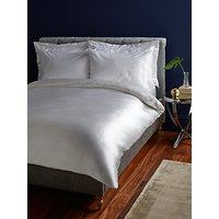 John Lewis & Partners The Ultimate Collection Silk Bedding, White