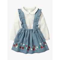 Mini Boden Baby Nostalgic Woven Skirt Set, Multi