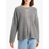 French Connection Roche Mozart Jumper, Light Grey