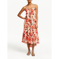 And/or Marilyn Floral Dress, Big Bloom Pink