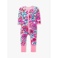 Bonds Baby Freestyle Blooms Floral Print Wondersuit, Pink