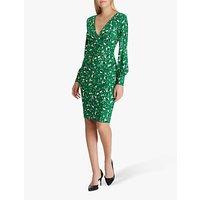 Lauren Ralph Lauren Floral Print Dress, Cambridge Green