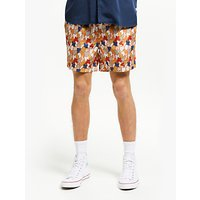Far Afield Jazz Camo Swim Shorts, Jazz Camo
