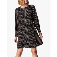 Karen Millen Chain Printed Dress, Brown/Multi