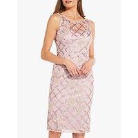Adrianna Papell Sequin Bodycon Dress, Quartz