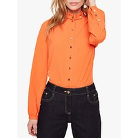 Damsel in a Dress Marlena Trench Shirt, Orange