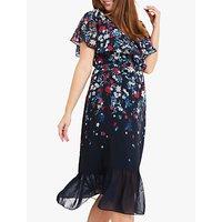 Studio 8 Imogen Floral Dress, Blue/Multi