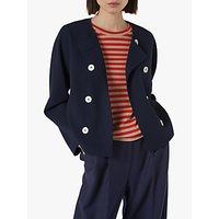 L.K.Bennett Parker Jacket, Midnight Blue