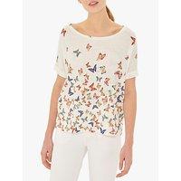 Gerard Darel Viona Linen Blend T-Shirt, White