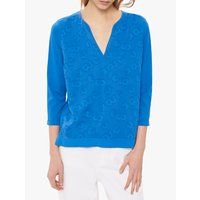 Gerard Darel Vitalys Bloc Cotton Blend T-Shirt, Blue