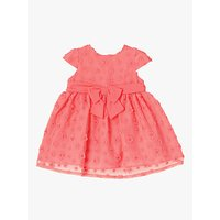 John Lewis & Partners Baby Flower Dress, Pink