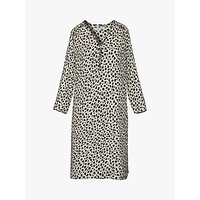 Gerard Darel Grace Shift Print Dress, Ecru