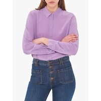 Gerard Darel Ethan Silk Blouse, Purple