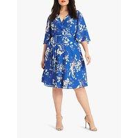 Studio 8 Sabine Floral Dress, Blue/Multi