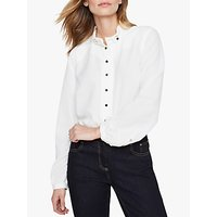 Damsel in a Dress Marlena Trench Shirt, Ivory