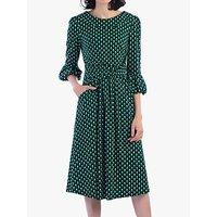 shop for Jolie Moi Roll Collar Shift Dress at Shopo