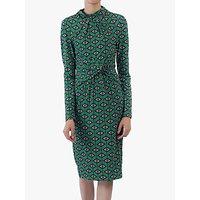 shop for Jolie Moi Twist Body Con Dress, Green Geo at Shopo