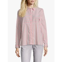 Betty Barclay Striped Shirt, Orange/White