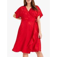 shop for Studio 8 Orla Wrap Dress, Red at Shopo