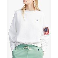Polo Ralph Lauren Fleece Back Sweatshirt, White