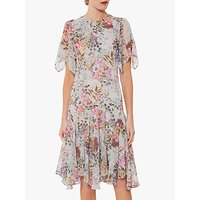 Gina Bacconi Estera Floral Dress, Grey